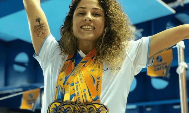 Daniela Giménez, candidata a mejor atleta paralímpica americana de abril