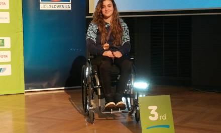Tenis de mesa adaptado: Garrone, medalla de bronce en Eslovenia