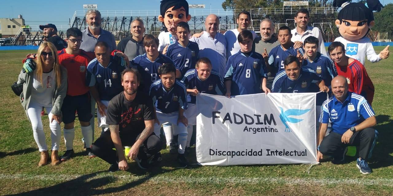 Futsal: la selección para chicos con síndrome de down se presentó en El Porvenir