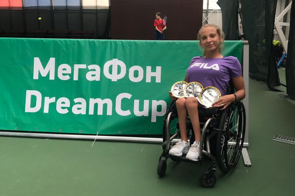 Tenis adaptado: Nicole Dhers, campeona en Rusia