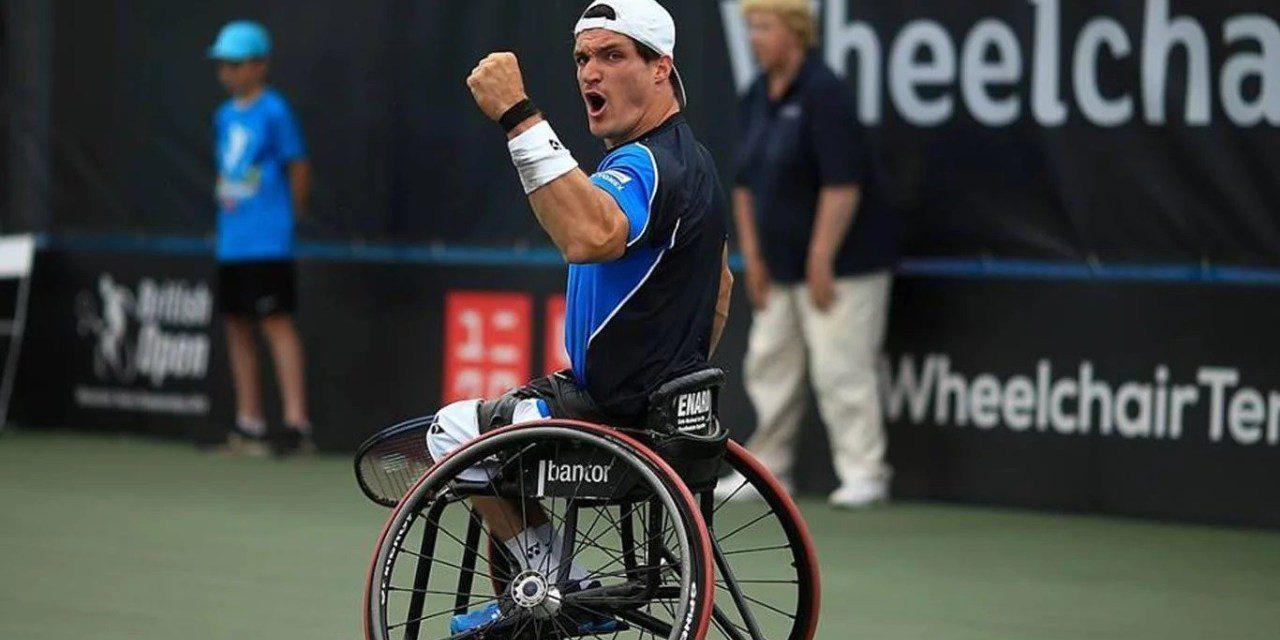 Tenis adaptado: Fernández, semifinalista en Francia
