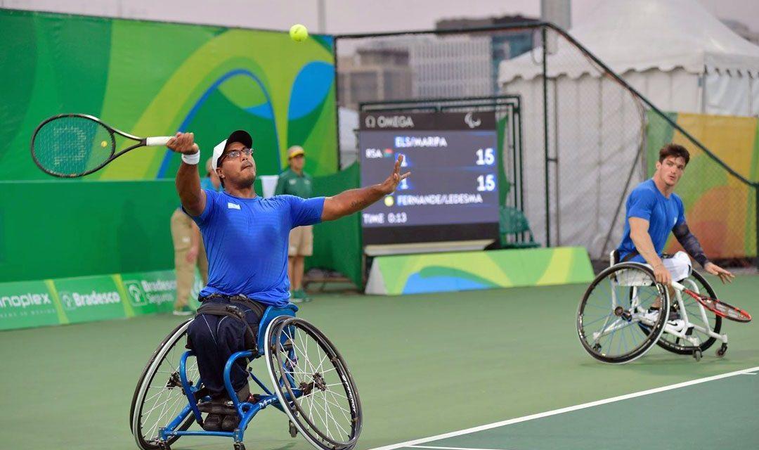 Tenis adaptado: Fernández ganó el duelo argentino y avanza en París