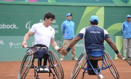 Lima 2019. Día 8: la primera medalla en el tenis sobre silla de ruedas llegó en manos de Gustavo Fernández y Agustín Ledesma