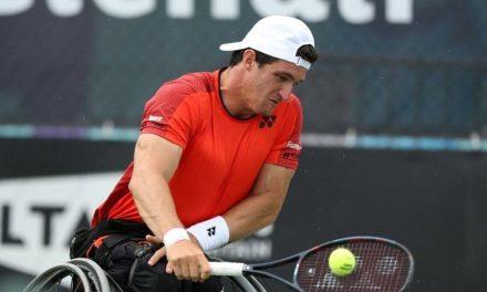 Tenis adaptado: Gustavo Fernández y un sólido debut en Saint Louis