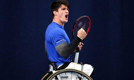 Tenis adaptado: Gustavo Fernández sigue firme en Saint Louis