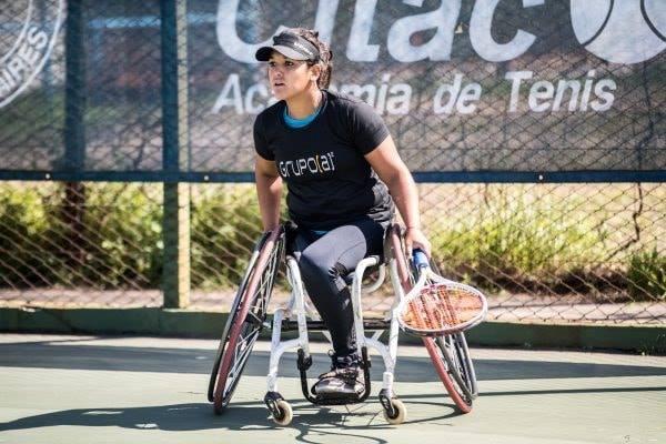 Tenis adaptado: Florencia Moreno, campeona en Brasil