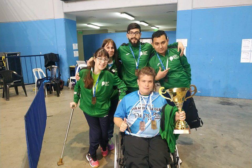 Tenis de mesa adaptado: CABA, campeón por equipos en los Juegos Nacionales Evita