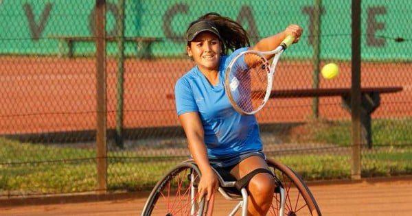Tenis adaptado: Florencia Moreno, finalista en Brasil