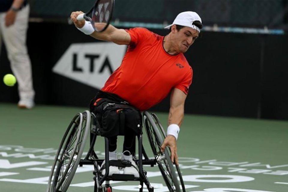 Tenis adaptado: Gustavo Fernández sigue firme en el Masters