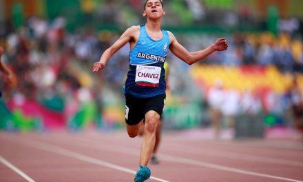 Enorme carrera de Alexis Chávez: quedó a sólo 7 centésimas del podio en el Mundial de atletismo en Dubai