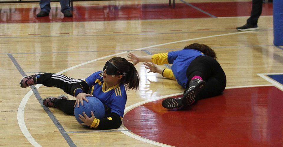 Goalball: Chubut, semifinalista en Damas