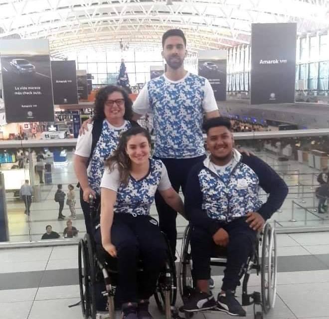 Tenis de mesa adaptado: dos argentinos, a Costa Rica