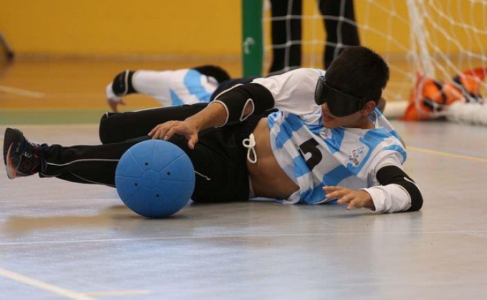 Goalball: las selecciones continúan con sus trabajos fisicos
