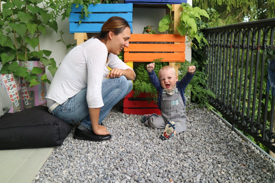 Gemüse Anbau auf Balkon