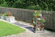 KUBI Designbeet im Garten