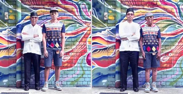 Generaties wisselen van kleding
