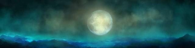stiltewandeling volle maan