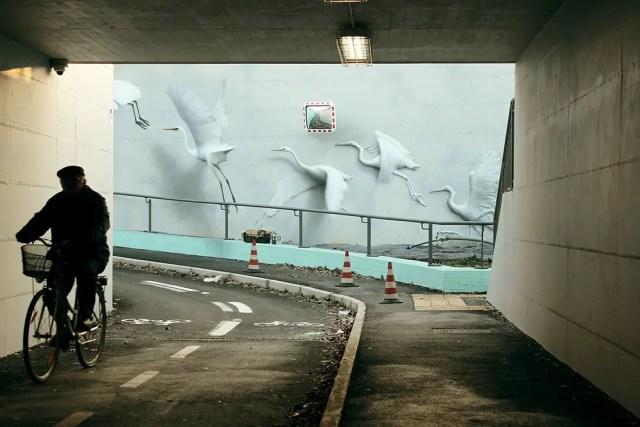Vliegende muurschilderingen | Paradijsvogels Magazine