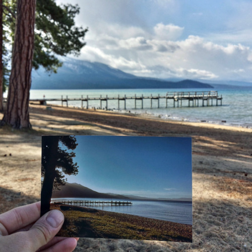 Valhalla Pier in South Lake Tahoe, California