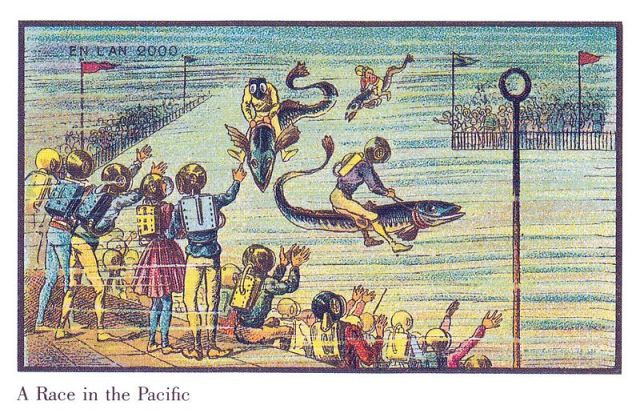 De wereld in 2000 volgens mensen in 1900 | Paradijsvogels Magazine