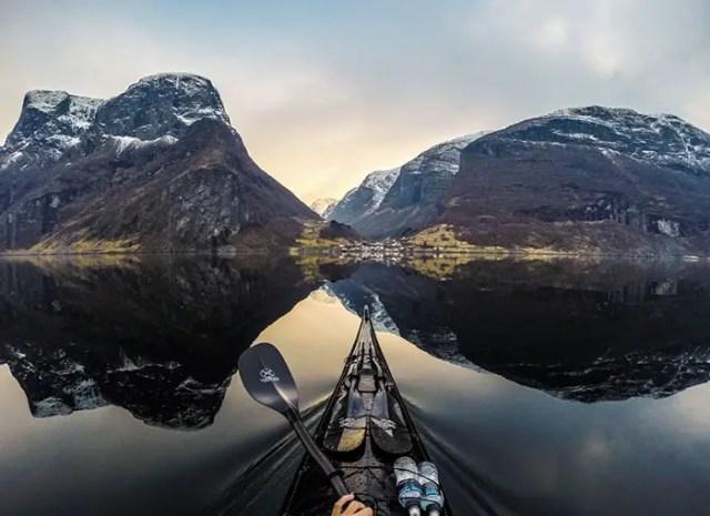 Noorwegen vanuit een kajak   Paradijsvogels Magazine