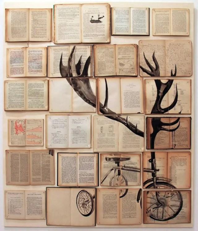 Metershoge illustraties van oude boeken | Paradijsvogels Magazine