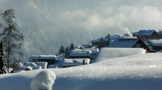 Zwitserland winterwandeling