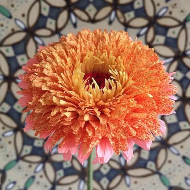 bloemkunst foto of papier21