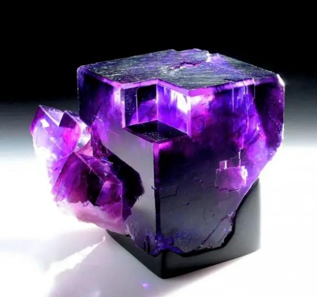 magische mineralen fluoriet