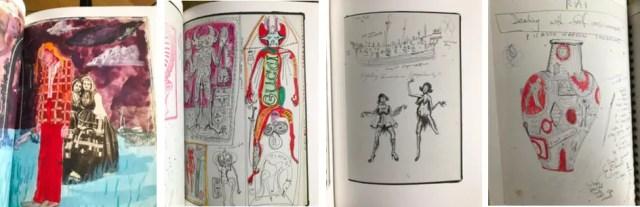 Uit het kunstboek Grayson Perry - SKETCHBOOKS