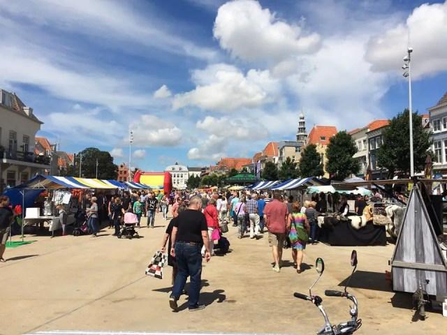 zomermarkt Vlissingen