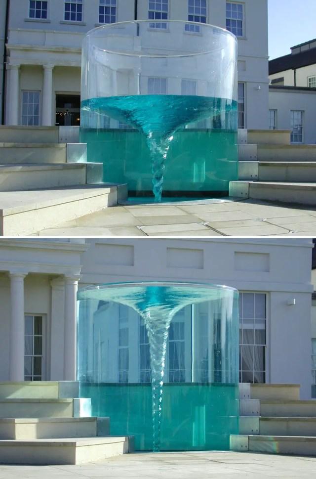 Fontein 6 - Vortex Fountain Charybis, Sunderland UK