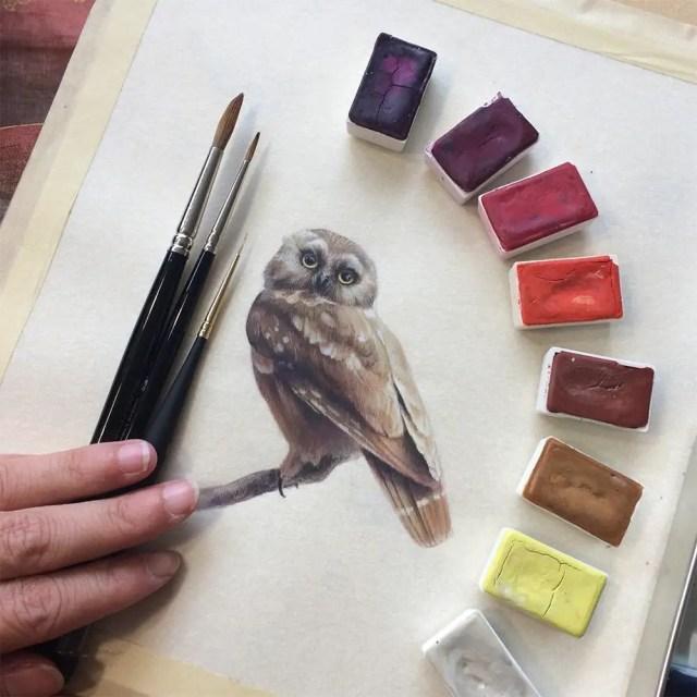 Miniature birds 3