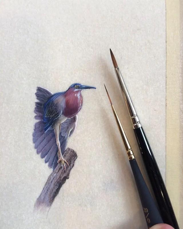 Miniature birds 8
