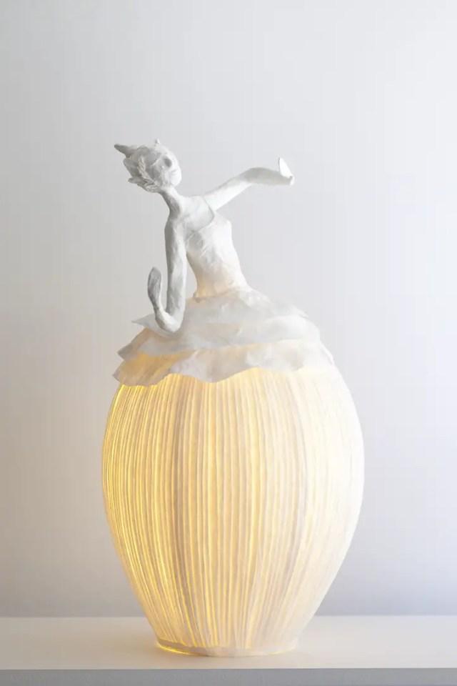 Papieren lamp 2