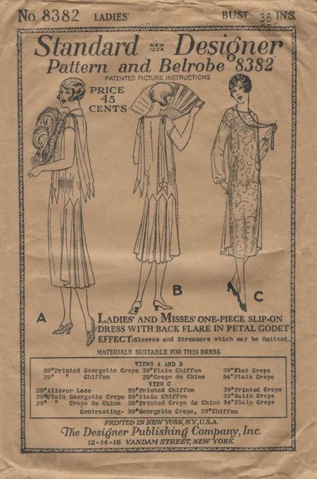 Naaipatroon 1920 - Standard Designer