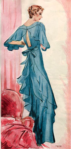 Naaipatroon 1934 - McCall
