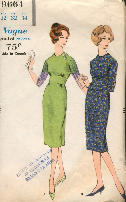 Naaipatroon 1958 - Vogue
