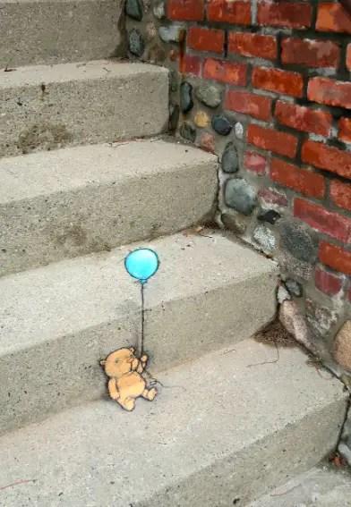 Beesrtje ballon