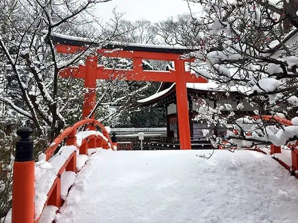 Kyoto in de sneeuw - 11