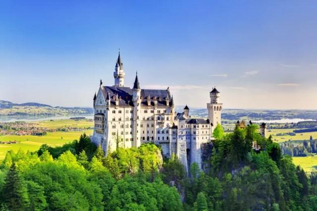 Neuschwanstein kasteel uitgelicht 3