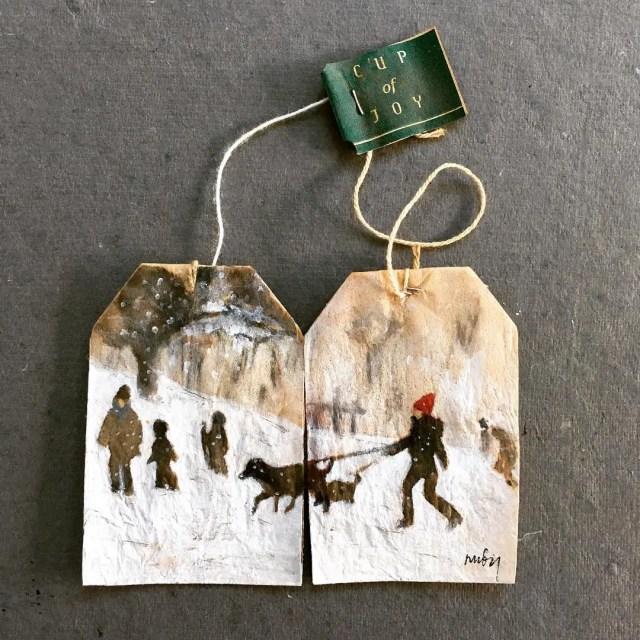 Teabag art - 5