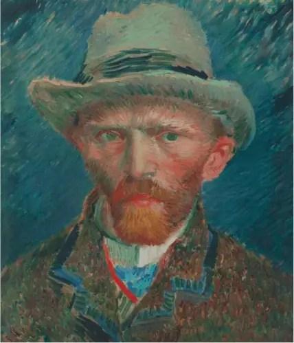 Zelfportret - Vincent van Gogh, 1887