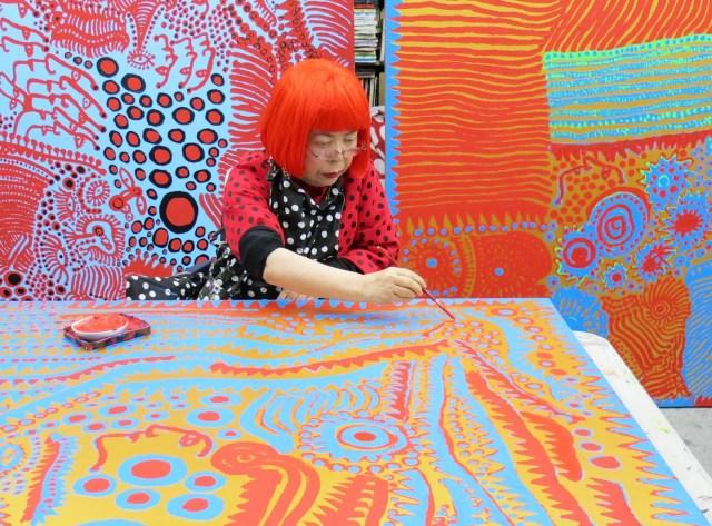 Kunstenares Yayoi Kusama 3