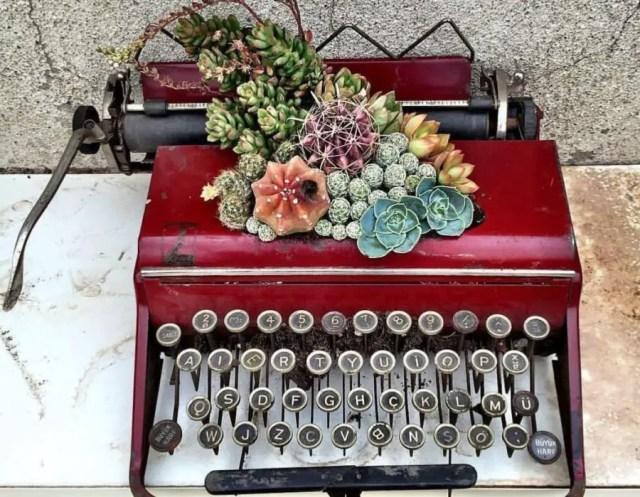 romantiek en typemachine kunst Afterawhile
