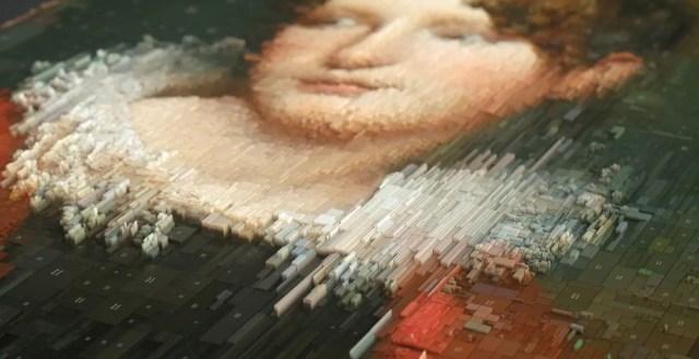 Oude meesters krijgen een prachtig nieuw leven in duizenden 3D stukjes