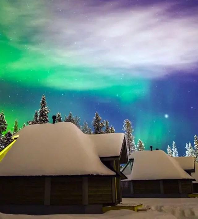 Slapen in de sneeuw: de mooiste accommodaties in Fins Lapland