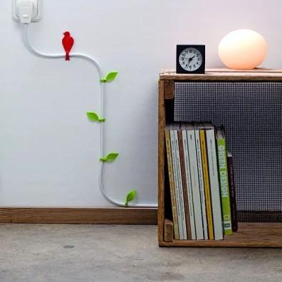 Genoeg van kabels in jouw huis? Werk ze origineel weg met deze originele tips