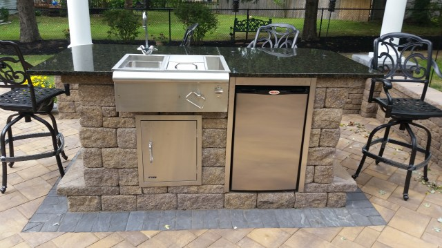 outdoor kitchen, grills, paver patio, medford, moorestown, mt laurel
