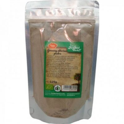 Pudra Ginseng Siberian - Eco 125g Pv Et